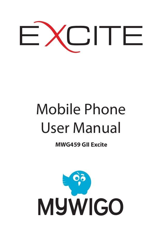 Manual del Usuario del MyWiGo Excite II
