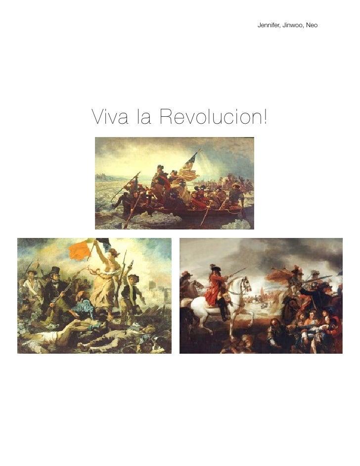 Jennifer, Jinwoo, NeoViva la Revolucion!
