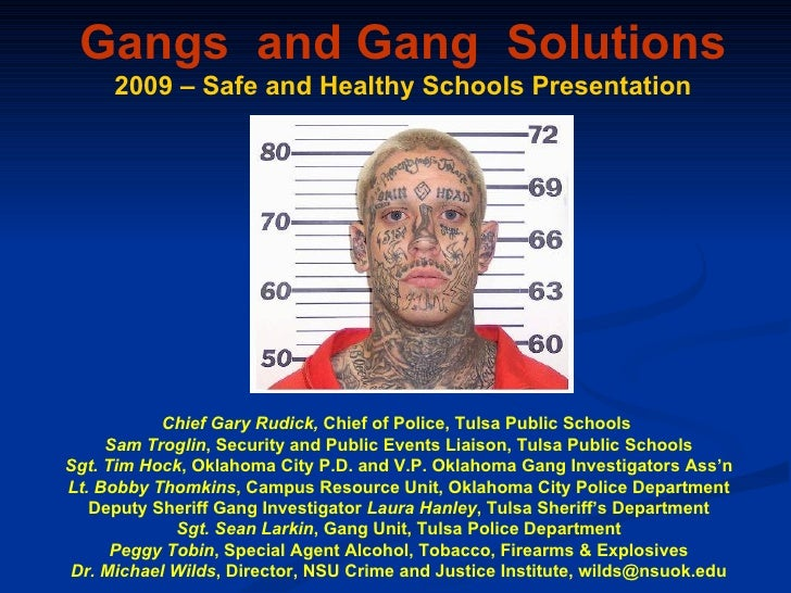 Gang Violence in High School