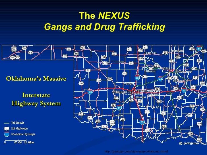 Gang Safety - Us gang map