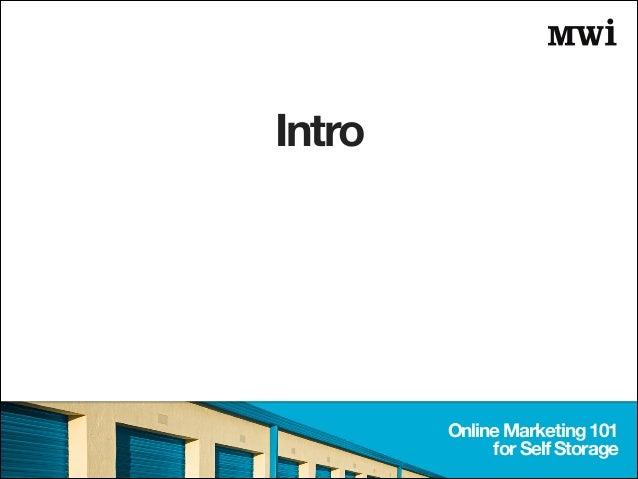 Online Marketing 101 for Self Storage Operators in Asia Slide 2