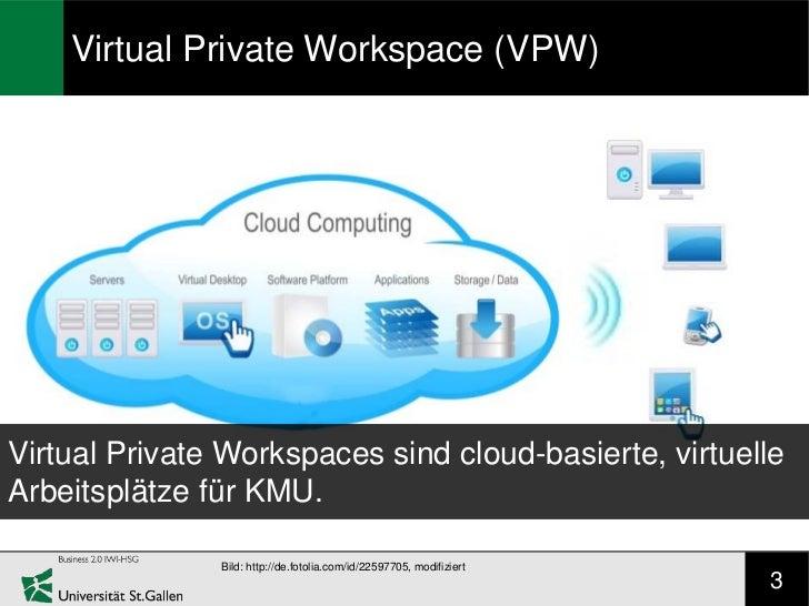 Virtual Private Workspace (VPW)Virtual Private Workspaces sind cloud-basierte, virtuelleArbeitsplätze für KMU.            ...