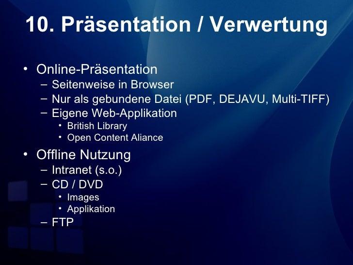 Schnittstellen• GDZ-Dokumentenserverserver (incl. OAI)• OPAC der SUB Göttingen• Flexible Präsentationssysteme (Virtuelle  ...
