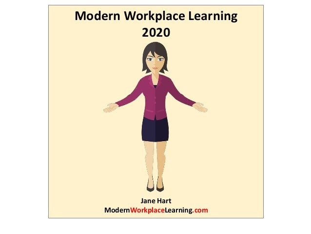 Modern Workplace Learning 2020 Jane Hart ModernWorkplaceLearning.com