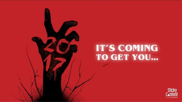 It's Coming to get you…
