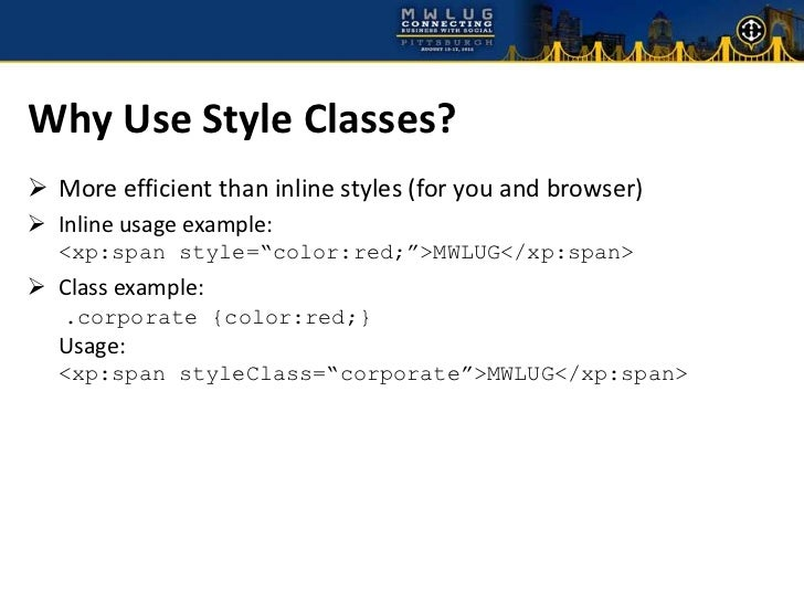 Css style class precedence