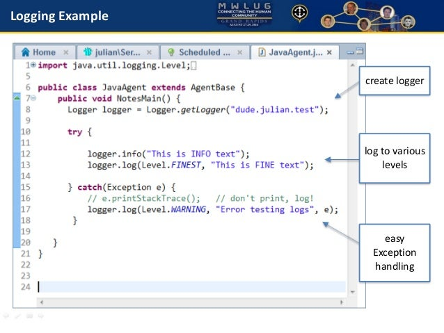 Java: Finding Bugs, Fixing Bugs in IBM Domino Designer and