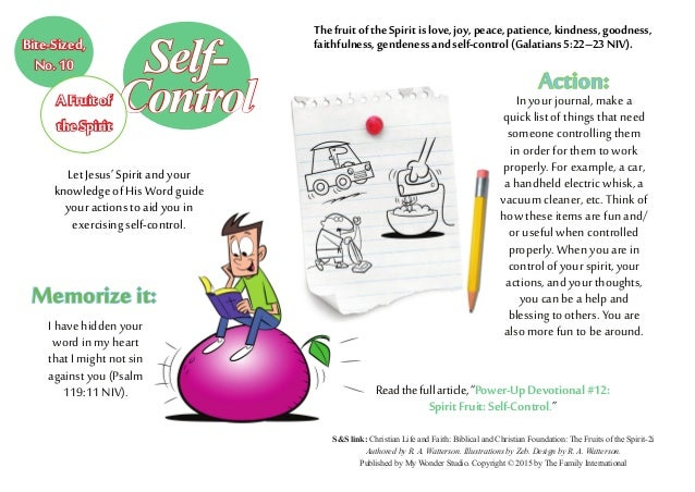 Action: In your journal, make a quick list of things that need someone controlling them in order for them to work properly...