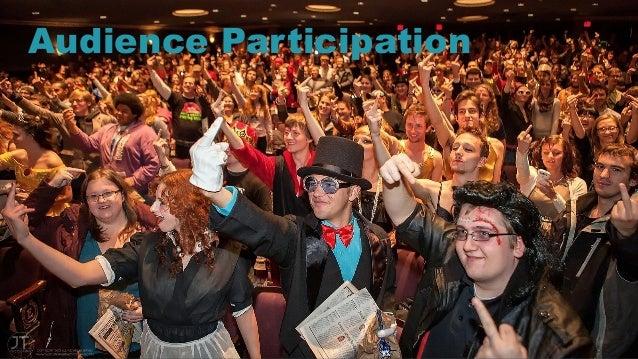 21 Audience Participation