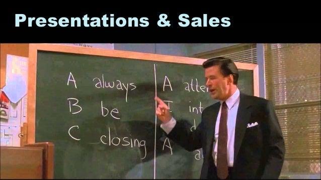 29 Presentations & Sales