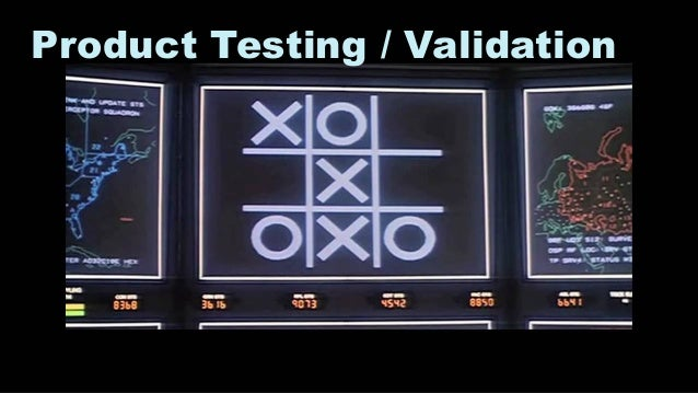30 Product Testing / Validation