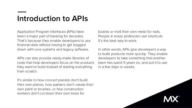 The API SlideShare for Bankers and Fintech Executives Slide 3