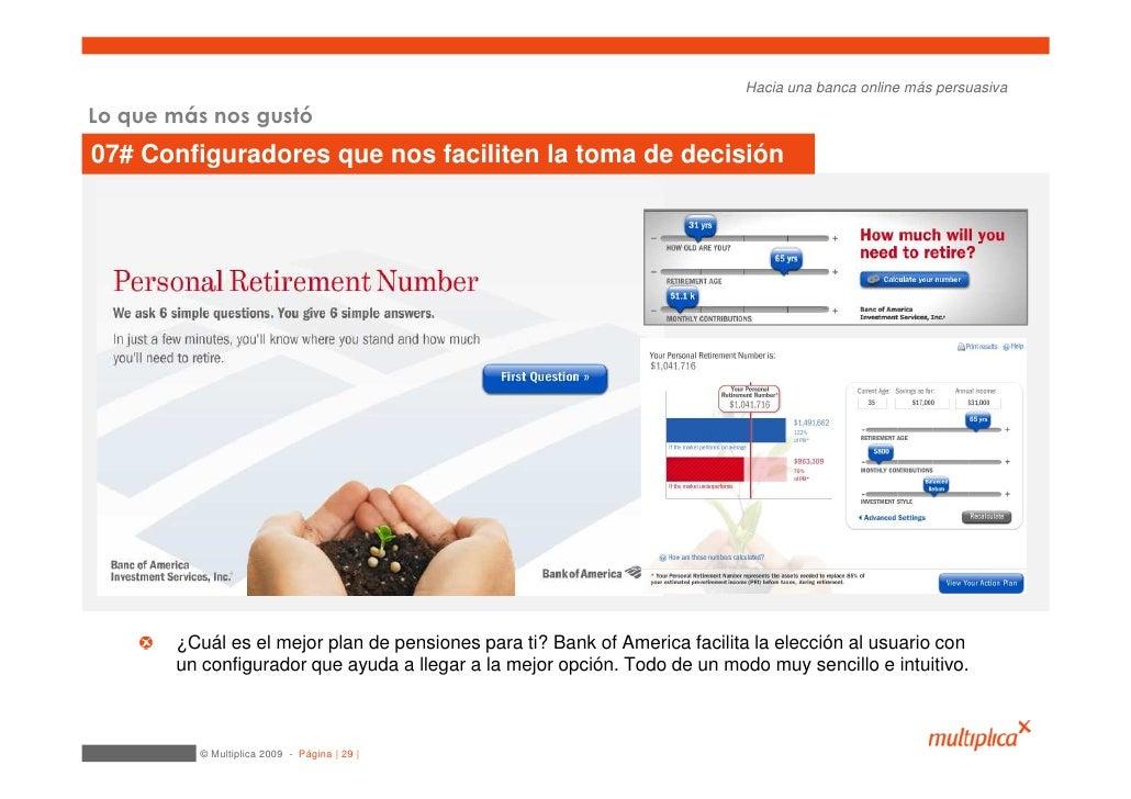 Hacia una banca online más persuasiva  Lo que más nos gustó 07# Configuradores que nos faciliten la toma de decisión      ...