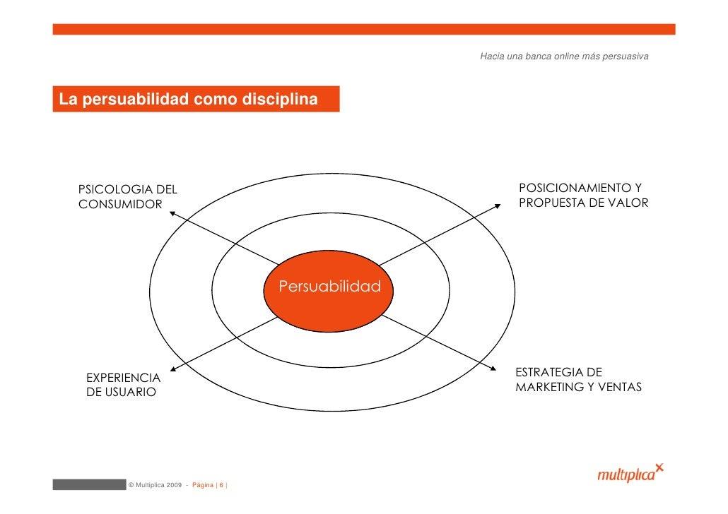Hacia una banca online más persuasiva    La persuabilidad como disciplina       PSICOLOGIA DEL                            ...