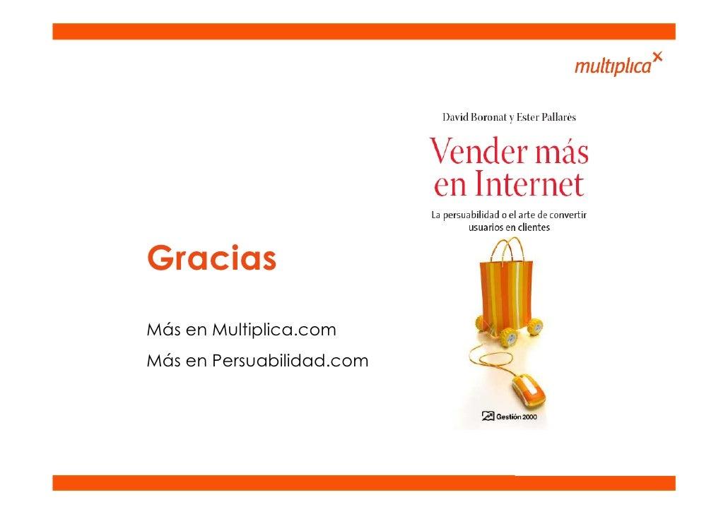 Gracias Más en Multiplica.com Más en Persuabilidad.com