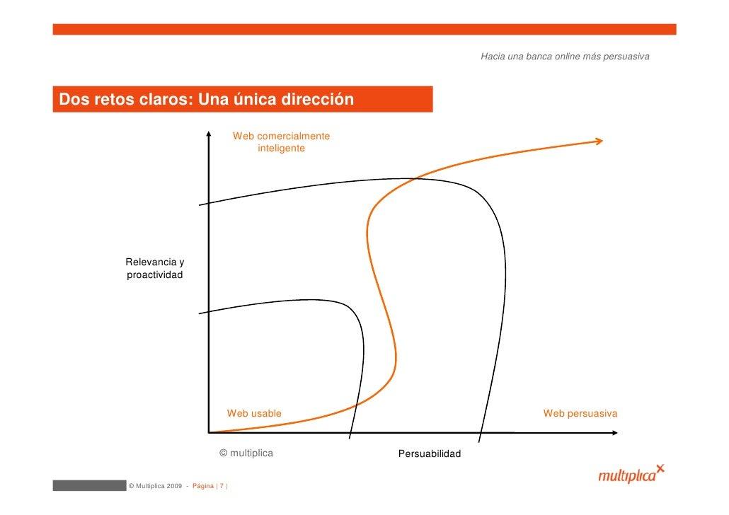 Hacia una banca online más persuasiva    Dos retos claros: Una única dirección                                            ...