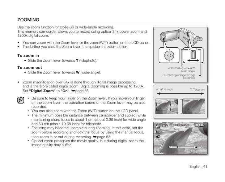 samsung camcorder mx10 user manual rh slideshare net samsung digital camcorder 42x intelli-zoom manual samsung 880x digital zoom camcorder manual