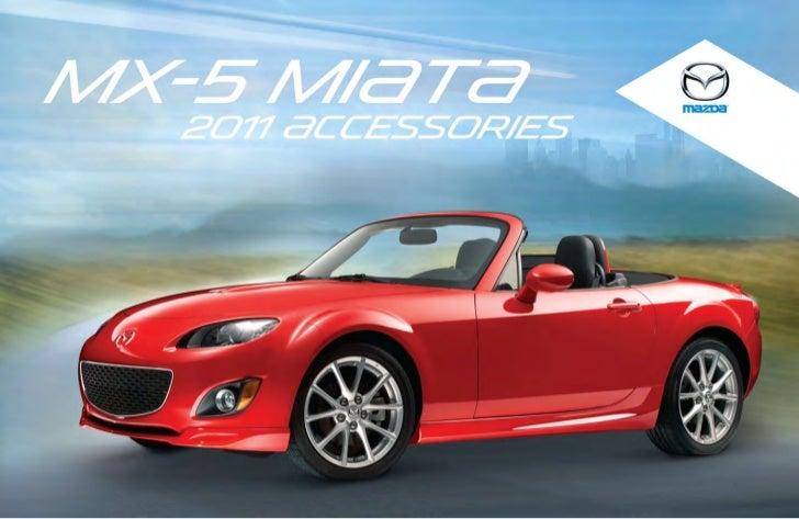 2012 mazda mx5 miata convertible parts and accessories brochure prov. Black Bedroom Furniture Sets. Home Design Ideas