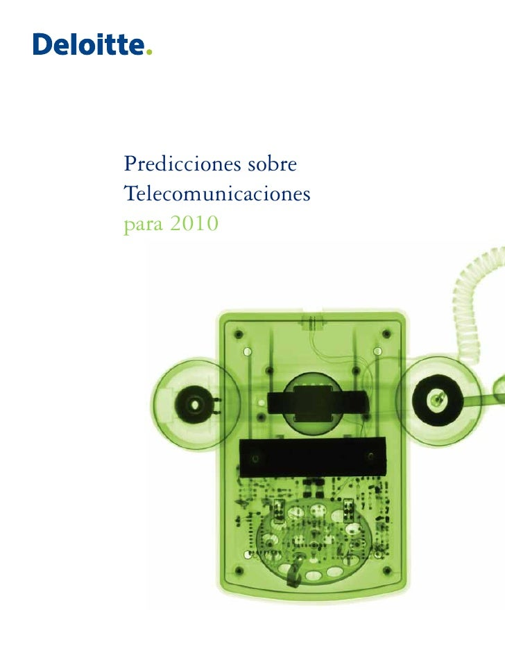 Predicciones sobre Telecomunicaciones para 2010