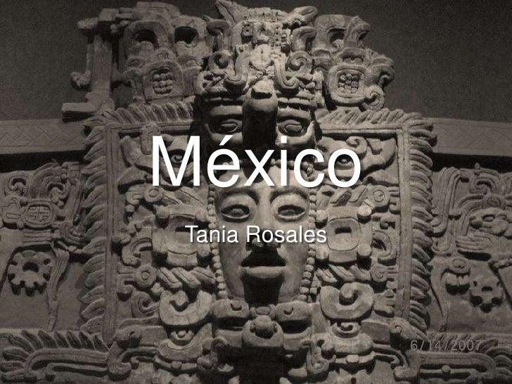 México<br />Tania Rosales<br />