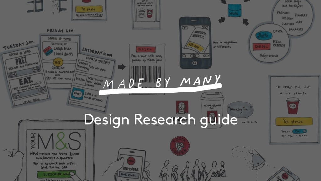 Made By Many design research guide