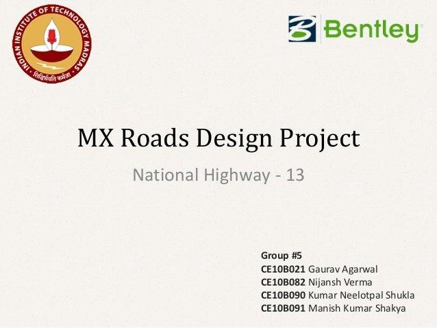 Design Of National Highway 13
