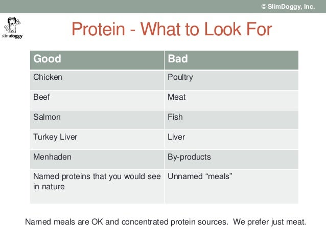 Good Sources Of Proteins For Dog