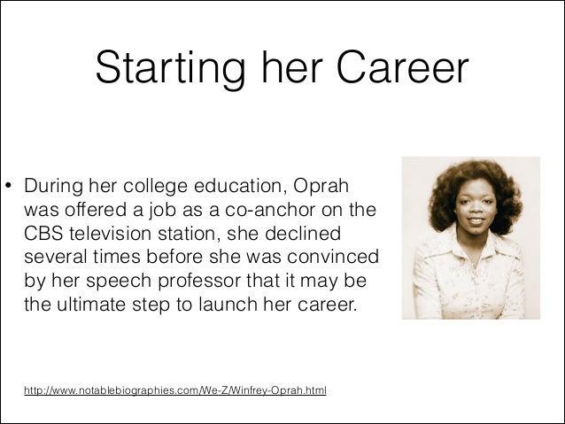 oprah winfrey childhood