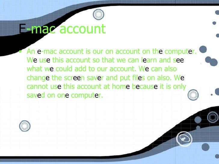 My Accounts  Slide 3