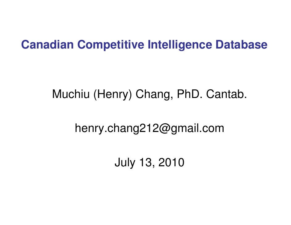Muchiu (Henry) Chang, PhD. Cantab. Prepared for Ontario Power Generation (OPG) [email_address] July 16, 2010 Managing Risk...