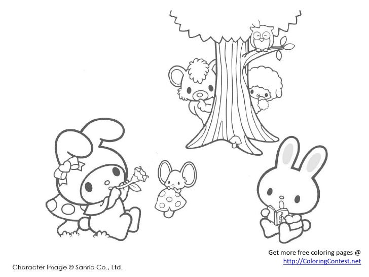 free keroppi coloring pages - photo #31