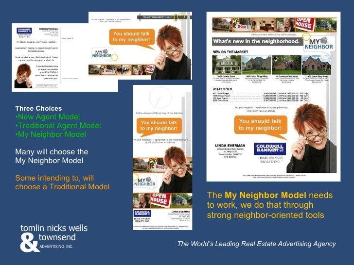 <ul><li>Three Choices </li></ul><ul><li>New Agent Model </li></ul><ul><li>Traditional Agent Model </li></ul><ul><li>My Nei...