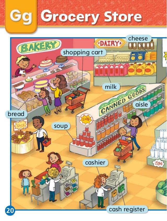 My newwordspicturewordbook – Grocery Words