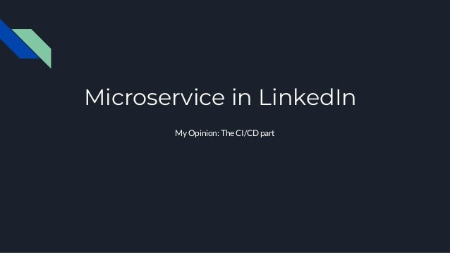從Microservice 看產品