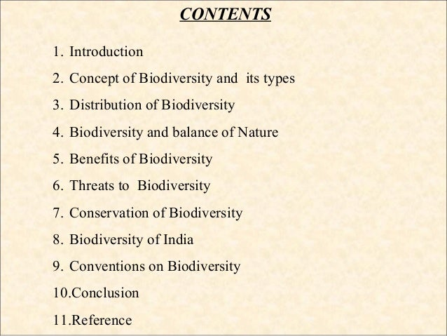 biodiversity and its conservation pdf file