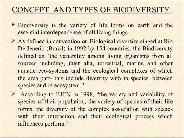 short essay biodiversity