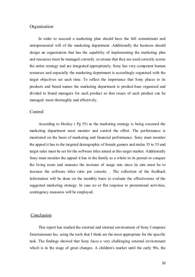 Case Analysis - Apple And Sony strategy Evaluation And Implementation