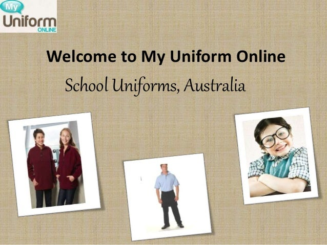 My uniform online
