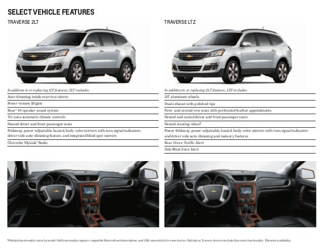 2013 Chevy Traverse at Jerry's Chevrolet in Baltimore ...