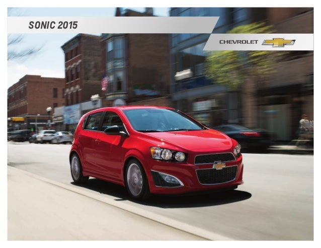 2015 Chevy Sonic In South Jersey