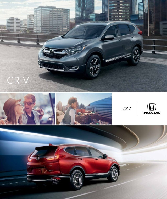 2017 Honda Cr V Brochure Honda Dealer Serving Chicago