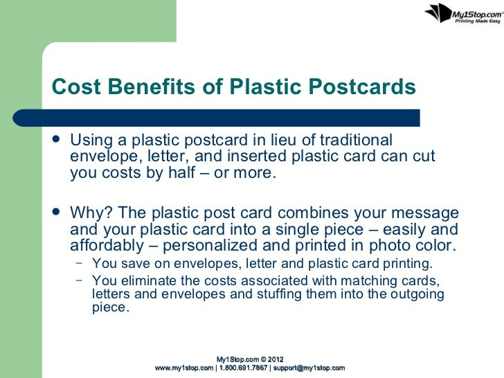 layout of a letter plastic postcard mailers 22712