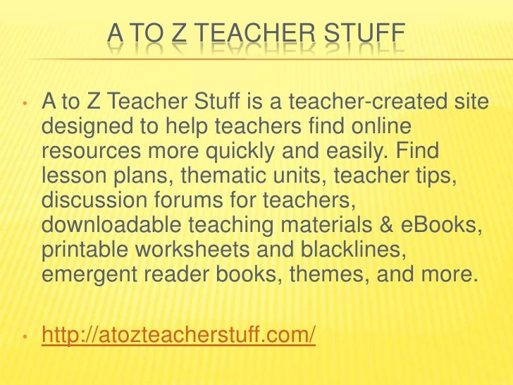 My 25 Best List Teachers Resource