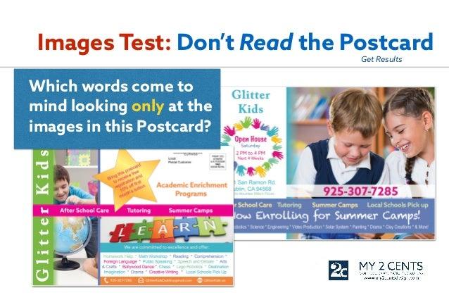 Postcard advertising tips
