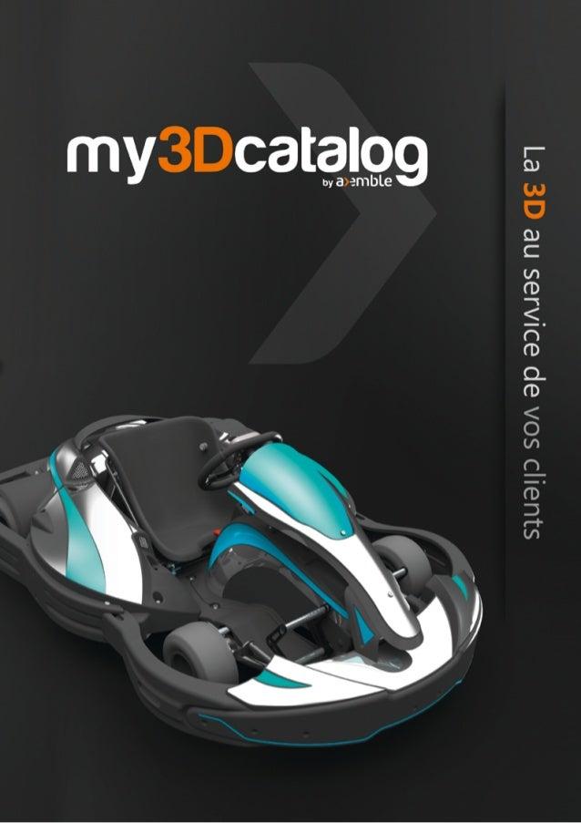 Avec my3Dcatalog, retrouver facilement toutes les informations nécessaires à la maintenance de vos produits/machines, et f...