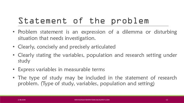 Research Problem Statement  CityEsporaCo