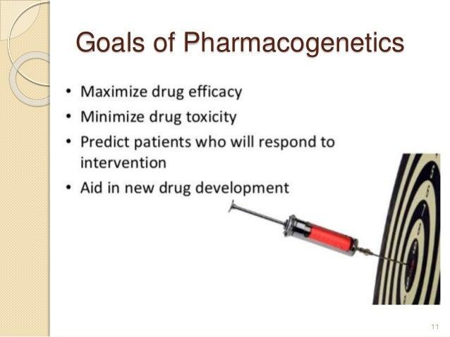 Goals of Pharmacogenetics 11