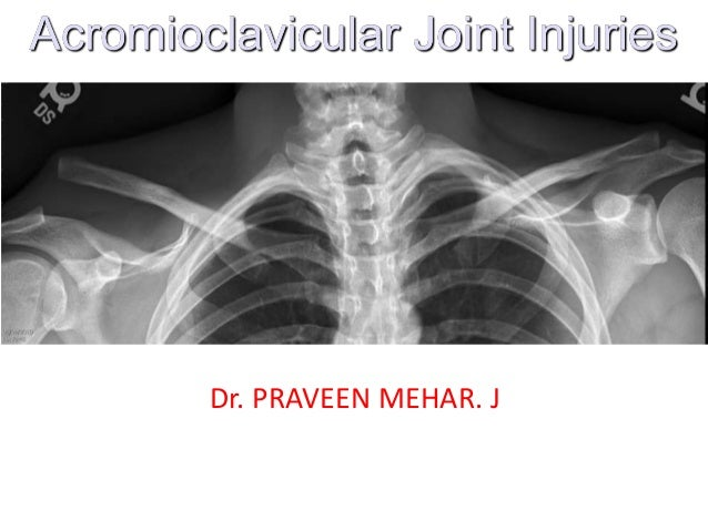 My ac joint injuries presentation1