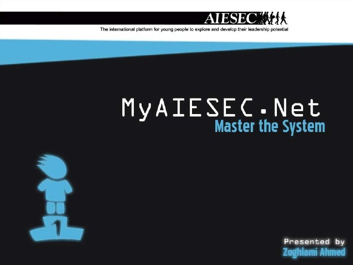 Presentation's PlanWhat's MyAIESEC.Net?How To Register?How To Login?How To Use?