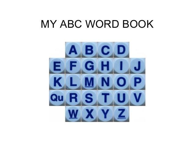 MY ABC WORD BOOK